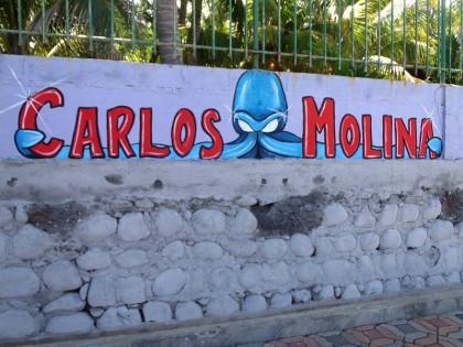 El Salvador street art: Carlos Molina