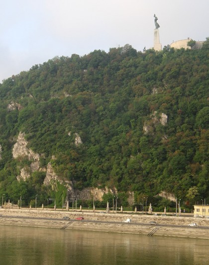 Gellert Hill with Szabadsag Szobor