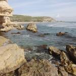Kourion beach rocks