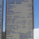 Kouris dam statistics