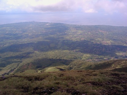 Ometepe, Nicaragua. View from 1000 meter plateau of volcano Concepción.