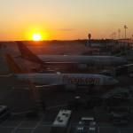 Brussels airport – sunrise