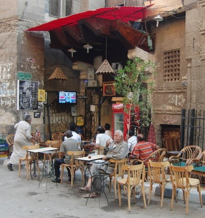 Cafe in Cairo