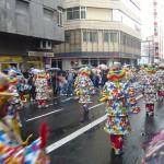 Carnaval clowns, Las Palmas