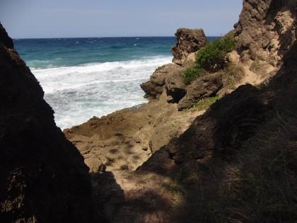 Cliff passage Ponta do Ouro