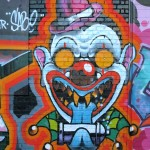 Street Art in Copenhagen, Denmark (19) Clown