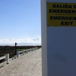 Emergency exit to the beach in Tarifa
