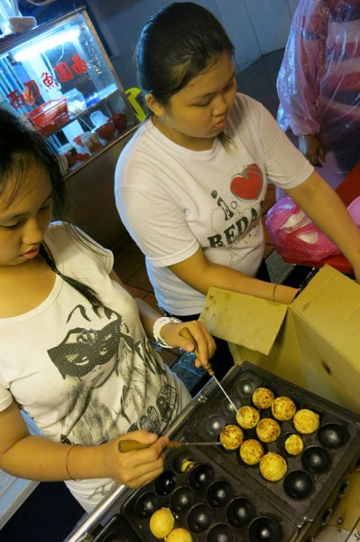 Johor Bahru to Kuala Lumpur - Melaka - squid balls