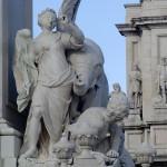 Machado de Castro elephant statue, Lisbon (Portugal)