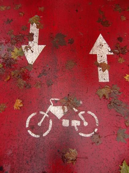 Milano bicycle path