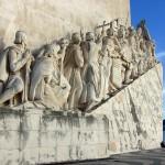 Monumento aos Descobrimentos, Santa Maria de Belem statue (Lisbon, Portugal)