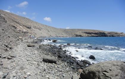 Nudist beach in Gran Canaria