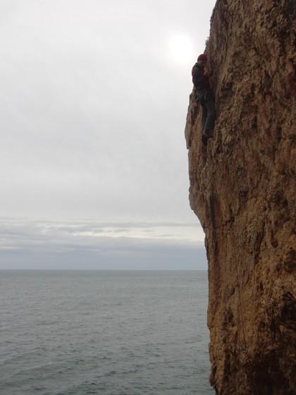 Rock climbing in Portugal - Cascais
