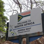 """South African border """"Jeppes Reef"""" border control"""