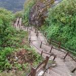 Sri Lanka travel –  Adam's peak stairs