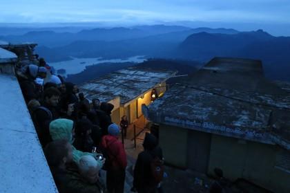 Sri Lanka travel - Adam's peak sunrise