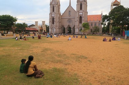 Sri Lanka travel story - Sunday mass