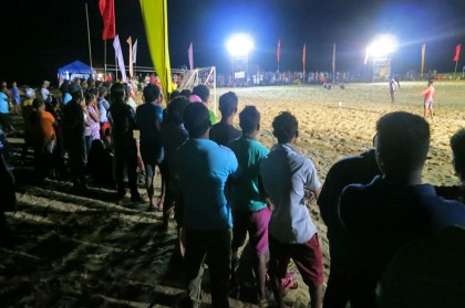 Sri Lanka travel story - Beach football match