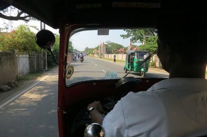 Sri Lanka travel story - Tuk-Tuk
