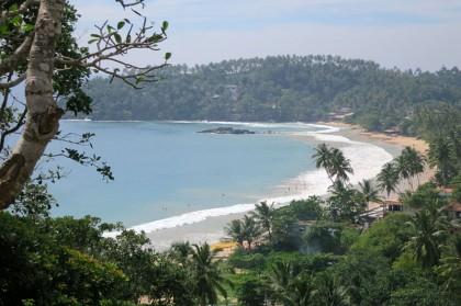 Sri Lanka travel story - Merissa hill view