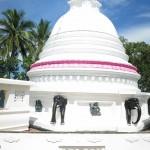 Sri Lanka travel story – Merissa Buddhist temple