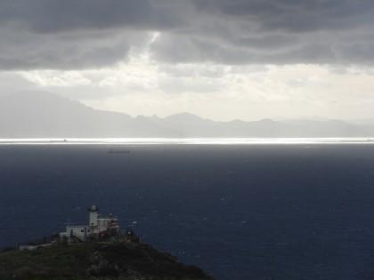 Strait of Gibraltar (beautiful weather)