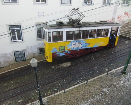 Tram Lisbon, Portugal