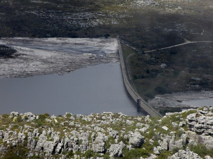 Water dam Cape Town