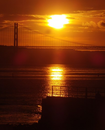 Weather Lisbon, Portugal (sunset)